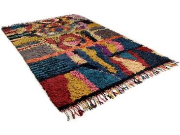 THEKO Teppich »Woven 1125«, rechteckig, Höhe 20 mm, mit Fransen, bunt, 20 mm, multi