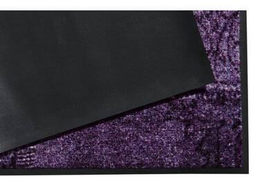 wash+dry by Kleen-Tex wash & dry Fußmatte, lila, violett
