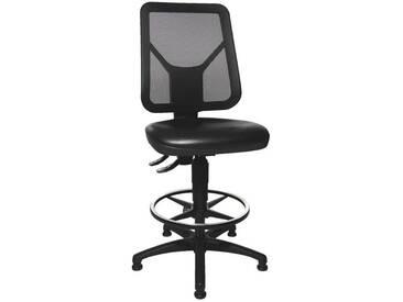 TOPSTAR Arbeitsdrehstuhl ohne Armlehnen »TEC 80 PK Counter«, schwarz, schwarz