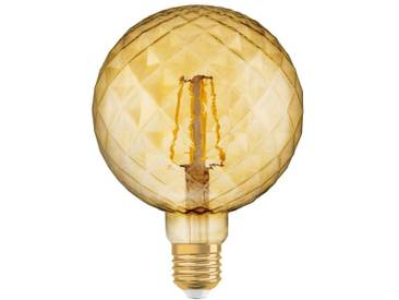 Osram LED-Lampe, Vintage-Edition »Vintage 1906 PINECONE 40 4.5 W/2500 E27 GOLD«, goldfarben, gold