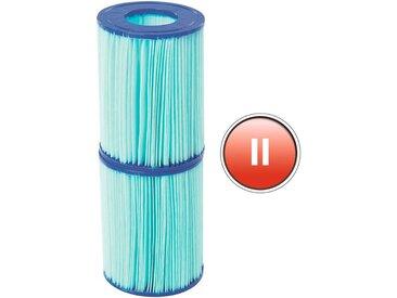 Bestway BESTWAY Ersatzfilterkartusche »Flowclear™«, Gr.II, 10,6 x 13,6 cm, blau, 10,6 cm, blau