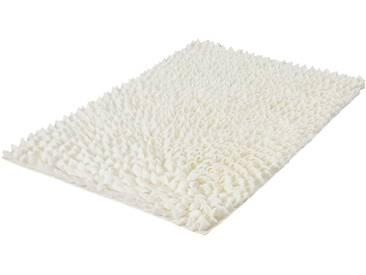 Kleine Wolke Badematte »Falbala« , Höhe 40 mm, rutschhemmend beschichtet, fußbodenheizungsgeeignet, weiß, 40 mm, weiß