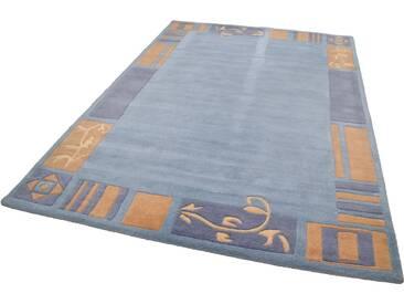 THEKO Teppich »Hawai 7098«, rechteckig, Höhe 14 mm, blau, 14 mm, blau