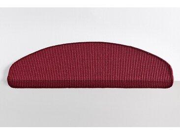heine home Dekowe Stufenmatte einzeln oder im 15er Set, rot, rot