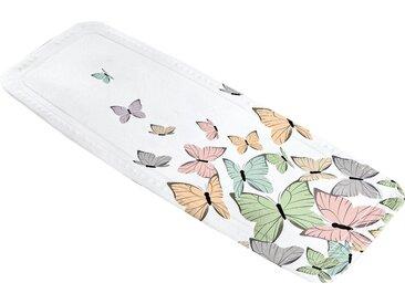 Kleine Wolke KLEINE WOLKE Wanneneinlage »Butterflies«, weiß, weiß/bunt