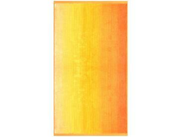 Dyckhoff Badetuch »Colori«, mit Farbverlauf, gelb, Walkfrottee, gelb