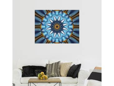 Posterlounge Wandbild - Christine Bässler »Mandala Erleuchtung«, bunt, Alu-Dibond, 160 x 120 cm, bunt