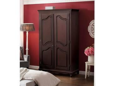 Premium collection by Home affaire Premium by Home affaire Kleiderschrank »Katarina« in 3 verschiedenen, Breiten, braun, 2 trg., 110 cm breit