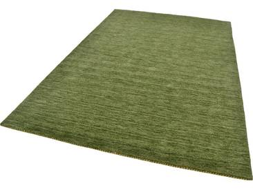 THEKO Teppich »Haltu Uni«, rechteckig, Höhe 17 mm, grün, 17 mm, grün