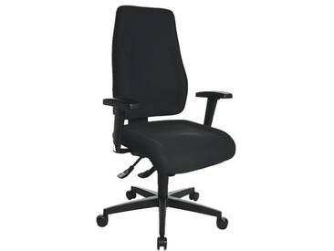TOPSTAR Bürostuhl ohne Armlehnen »Lady Sitness«, schwarz, schwarz