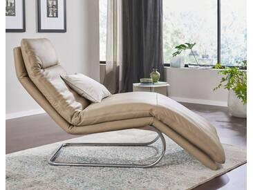 W.SCHILLIG Relaxliege »jill« mit Wippfunktion, inklusive Rücken-, Fußteil- & Kopfteilverstellung, blau, stone