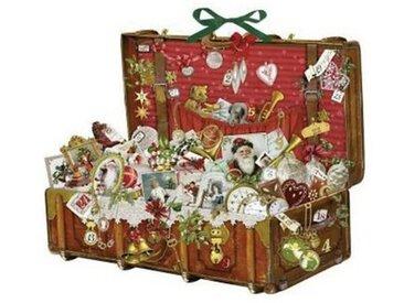 Coppenrath Nostalgischer Weihnachtskoffer, Adventskalender