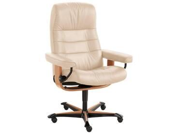Stressless® Relax- Bürosessel Home Office »Opal«, mit Schlaffunktion, natur, Fuß naturfarben, cream