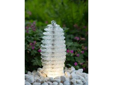 Ubbink ACQUAARTE/UBBINK Gartenbrunnen »Mires«, B/T/H: 20/20/45 cm, weiß, weiß