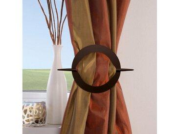 Good Life Dekospange »Kara«, Vorhänge, (1-tlg), mit Stab, schwarz, schwarz