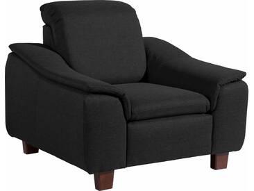 Max Winzer® Sessel »Alessio« mit abgerundeter Rückenlehne, schwarz, schwarz