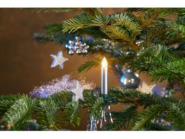 LED-Christbaumkerzen, kabellos, 25 Kerzen