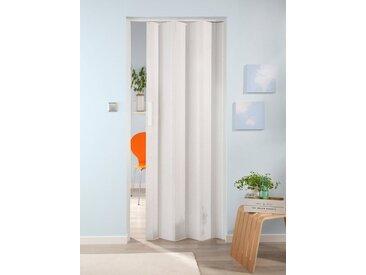 FORTE Kunststoff-Falttür »Luciana«, eiche weiß, weiß, 88.5 cm, eiche weiß