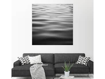 Posterlounge Wandbild - Brookview Studio »Regentage«, grau, Leinwandbild, 120 x 120 cm, grau