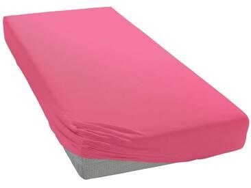 Pinolino® Spannbettlaken »Josy«, in kuscheligem Jersey für Babys, rosa, Jersey, altrosa