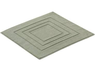 Vossen Badematte »Feeling« , Höhe 10 mm, fußbodenheizungsgeeignet, grün, 10 mm, hellgrün