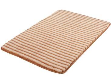 MEUSCH Badematte »Lana« , Höhe 15 mm, rutschhemmend beschichtet, fußbodenheizungsgeeignet, natur, 15 mm, bambusbeige