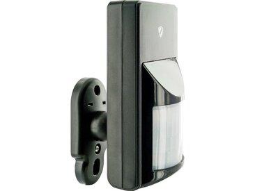 Schwaiger PIR Bewegungsmelder für den Innen-und Außenbereich »Green Guard«, schwarz, Schwarz