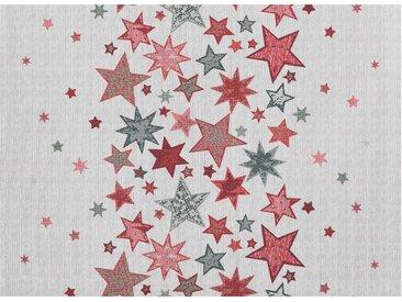 APELT Platzset »2501 Winterwelt, Gobelin« (2-tlg), natur, Baumwolle,Polyester,Polyacryl, natur-rot-grau