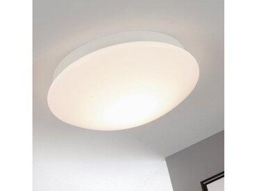 Briloner Leuchten LED Deckenleuchte »Luca«, 1-flammig, Badezimmerleuchte, 800 Lumen, 3.000 Kelvin, IP44, weiß, 1 -flg. /, weiß