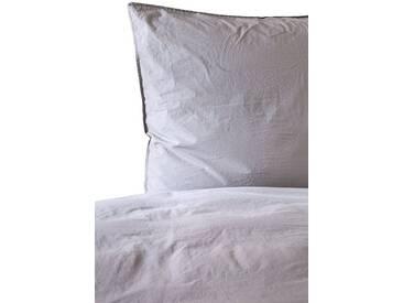 Casa di Bassi Bettwäsche »BASIC SOFT TOUCH breit«, Pre-Washed Effekt, lila, 1x 155x220 cm, Baumwolle, helllila