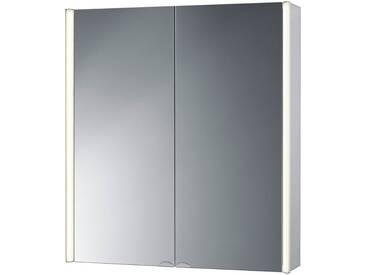 jokey Jokey Spiegelschrank »CantAlu« Breite 67 cm, mit LED-Beleuchtung, silberfarben, aluminiumfarben