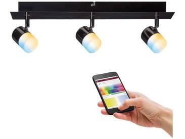Paulmann LED Deckenstrahler »Spot Tunable White Schwarz/Chrom Deon«, schwarz, schwarz-chromfarben