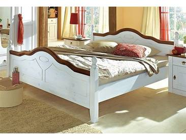 Premium Collection By Home Affaire Bett, »Wales«, Weiß, Ohne Aufbauservice,