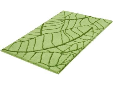 Kleine Wolke Badematte »Kingston« , Höhe 20 mm, rutschhemmend beschichtet, fußbodenheizungsgeeignet, grün, 20 mm, lindgrün