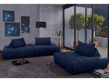 Guido Maria Kretschmer Home&Living GMK Home & Living Modul-Polsterecke »Lyon«, blau, blau