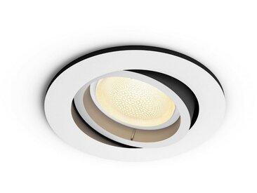Philips Hue LED Einbaustrahler »White & Col. Amb. Centura rund weiß 350lm«, 1-flammig
