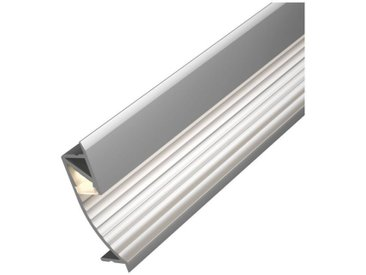 Paulmann LED-Streifen »Cup Profil mit Diffusor 100cm Alu eloxiert«, silberfarben, silberfarben