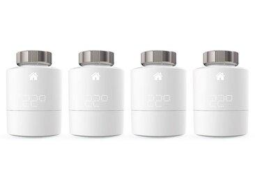 Tado Smart Home Zubehör »Smart Heizkörperthermostat - Quattro Pack«, weiß, Weiß