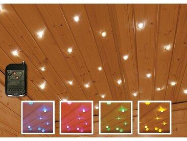 Karibu KARIBU Farblichtanwendung »Sternenhimmel«, für Saunen, inkl. Funkfernbedienung, bunt, bunt