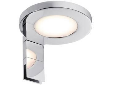 Paulmann Spiegelleuchte »Aufschrankleuchte LED Ring 3,2W Chrom«, 1-flammig, silberfarben, 1 -flg. /, chromfarben