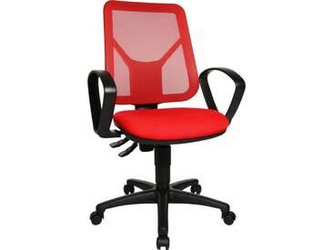 TOPSTAR Bürostuhl »Airgo Net«, rot, rot