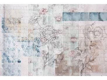 Komar Vlies Fototapete »Patches« (4er-Set), bunt, Maße(B/H):(368/248), bunt