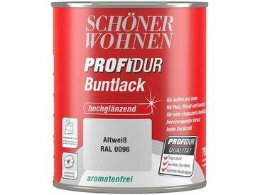 SCHÖNER WOHNEN-Kollektion Schöner Wohnen Farbe Buntlack »ProfiDur hochglänzend, 750 ml altweiß«, weiß, weiß