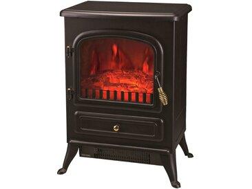El Fuego EL FUEGO Elektrisches Kaminfeuer »Leeds«, schwarz, 1850 Watt, mit LED Beleuchtung, schwarz, schwarz
