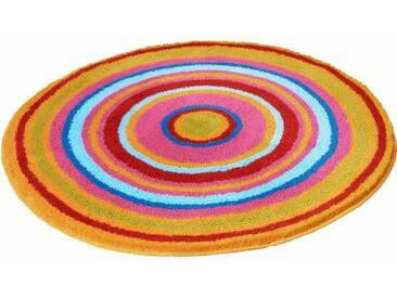 Kleine Wolke Badematte »Mandala« , Höhe 20 mm, rutschhemmend beschichtet, fußbodenheizungsgeeignet, bunt, 20 mm, bunt