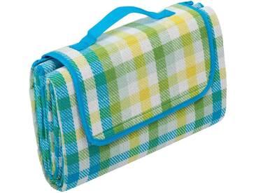 BIEDERLACK Picknickdecke »Picnic«, mit Klettverschluss, bunt, Kunstfaser, blau-multi