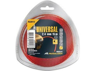 GARDENA UNIVERSAL Ersatzfadenspule »Trimmerleisefaden«, 90 m Fadenlänge, rot, rot