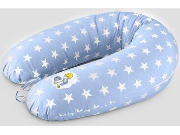 SEI Design Stillkissen »Vintage Sterne blau EPS«, mit hochwertiger Stickerei mit niedlichen Vintage-Motiven, blau, blau