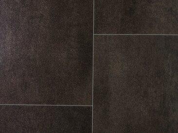 Andiamo ANDIAMO Vinylboden »PVC Space«, verschiedene Breiten, Meterware, Fliesen-Optik, grau, 200 cm, anthrazit
