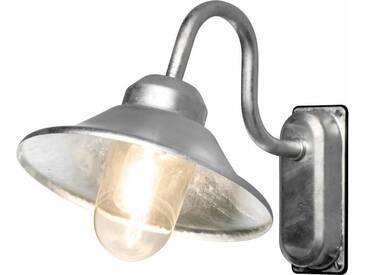 KONSTSMIDE LED Außen-Wandleuchte »VEGA«, 1-flammig, Außenleuchte für die Wandbefestigung, silberfarben, 1 -flg. /, silberfarben